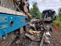 Zrážka dvoch vlakov v Česku