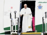 Pápež František prišiel na Slovensko