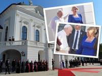 Pápež František má aj počas druhého dňa návštevy na Slovensku bohatý program.