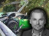 Okresný predseda SaS zahynul pri kolesách svojho rýchleho športiaka.