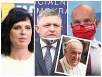 Politici reagujú na návštevu pápeža Františka.
