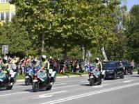 Na bezproblémovom zabezpečení návštevy sa podieľali takmer všetky policajné zložky.