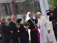 Pápež je dnes na východe Slovenska.