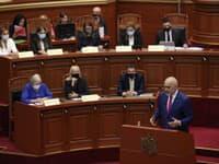 Premiér Albánska Edi Rama a jeho nový kabinet