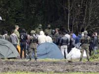 Afganskí utečenci na hraniciach Poľska a Bielorusko