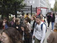 Študenti univerzity v Perme po incidente