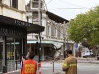 Zemetrasenie spôsobila materiálne škody v meste Melbourne