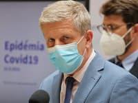 Tlačová konferencia ministra zdravotníctva Vladimíra Lengvarského