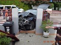 Pri dopravnej nehode v Bratislave vznikla škoda za 35-tisíc eur