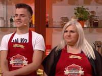 Hela a jej syn Miro hviezdili v šou Moja mama varí lepšie ako tvoja