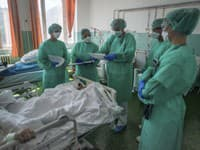 Hospitalizácie v nemocniciach