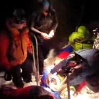 Záchranná akcia trvala dlhé nočné hodiny