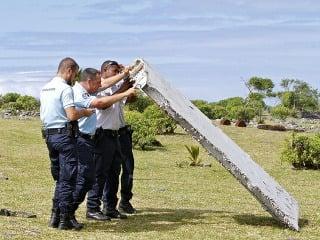 Údajné trosky strateného lietadla