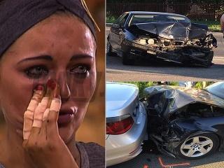 Nikola Máčeová mala nepríjemnú autonehodu.