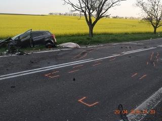Nehoda Veľký Lapáš