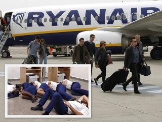 Posádka Ryanairu musela spať