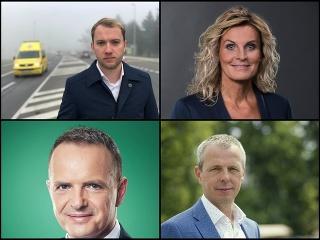 Martin Kapitulík, Ľudmila Chodelková, Paťo Groma a Peter Fiabáne