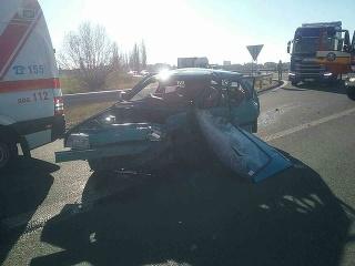 Vážna dopravná nehoda si