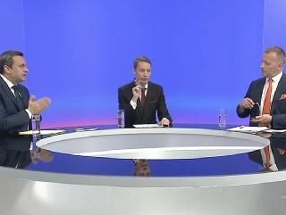Búrlivá televízna debata  Ťaháš ma na dno 0da29217fa6