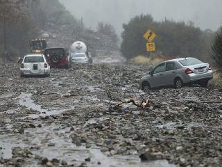 Povodne v Kalifornii
