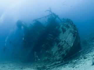 Vrak starovekej lode na
