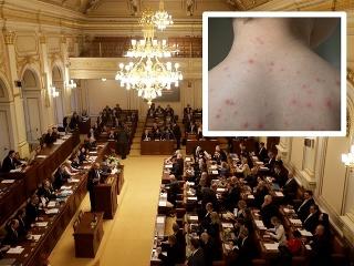 Poplach v českom parlamente: