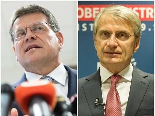Maroš Šefčovič a Robert Mistrík