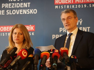 Zuzana Čaputová a Robert Mistrík