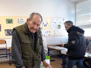 92-ročný dôchodca Jozef Vaškeba.