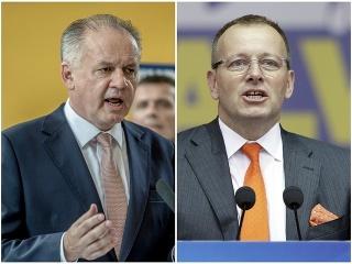 Andrej Kiska a Boris