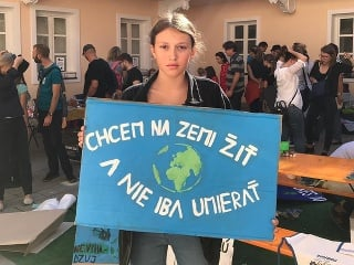 Klimaštrajk: Za budúcnosť nás