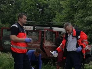 Český turista skolaboval, záchranárom