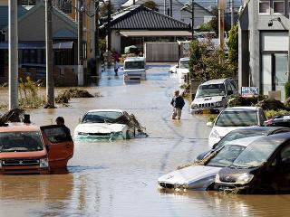 Krajinu zasiahla katastrofa v podobe tajfúnu