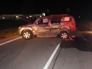 Večerná nehoda vo Zvolene: