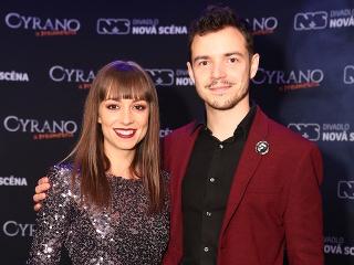 David Hartl s priateľkou Martinou Chválovou.