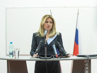 Čaputová kritizovala dezinformačné weby,