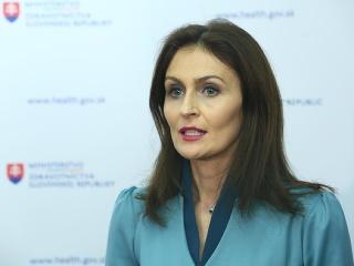 MIMORIADNE Ministerka zdravotníctva Kalavská