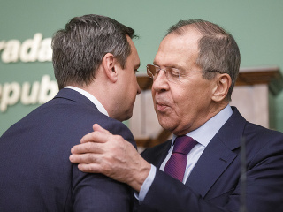 Andrej Danko, Sergej Lavrov