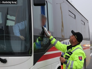 Nafúkal aj vodič autobusu