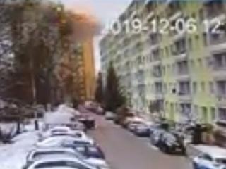 VIDEO Bezpečnostná kamera reštaurácie