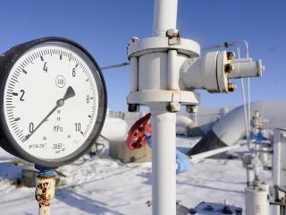 Plynový tlakomer hlavného plynovodu