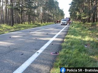 Dopravná nehoda sa stala