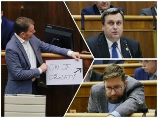Rušno v parlamente! Posledná