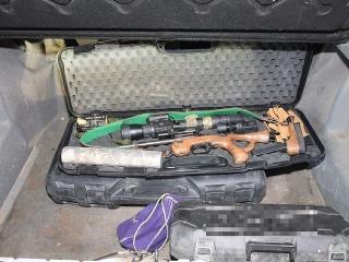 Mužom zaistili niekoľko zbraní