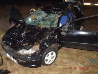 Nehoda Tisovec 19 ročný