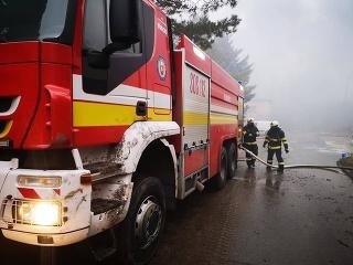 Rušná noc hasičov v
