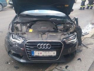 Dopravná nehoda v Čadci
