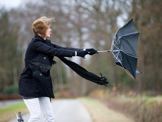 FOTO Výstraha pred vetrom