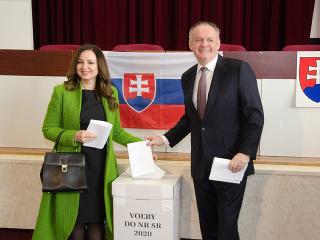 VOĽBY 2020 Andrej Kiska