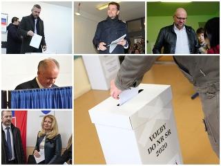 MIMORIADNY ONLINE Voľby 2020: